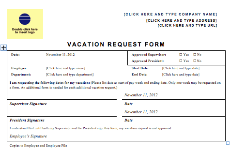 Employee-Vacation-Request-Form-444 Sample Hr Newsletter Template on section company, adding employee life, email for, compensation benefits, spotlights for, happy new year employee, tips for,