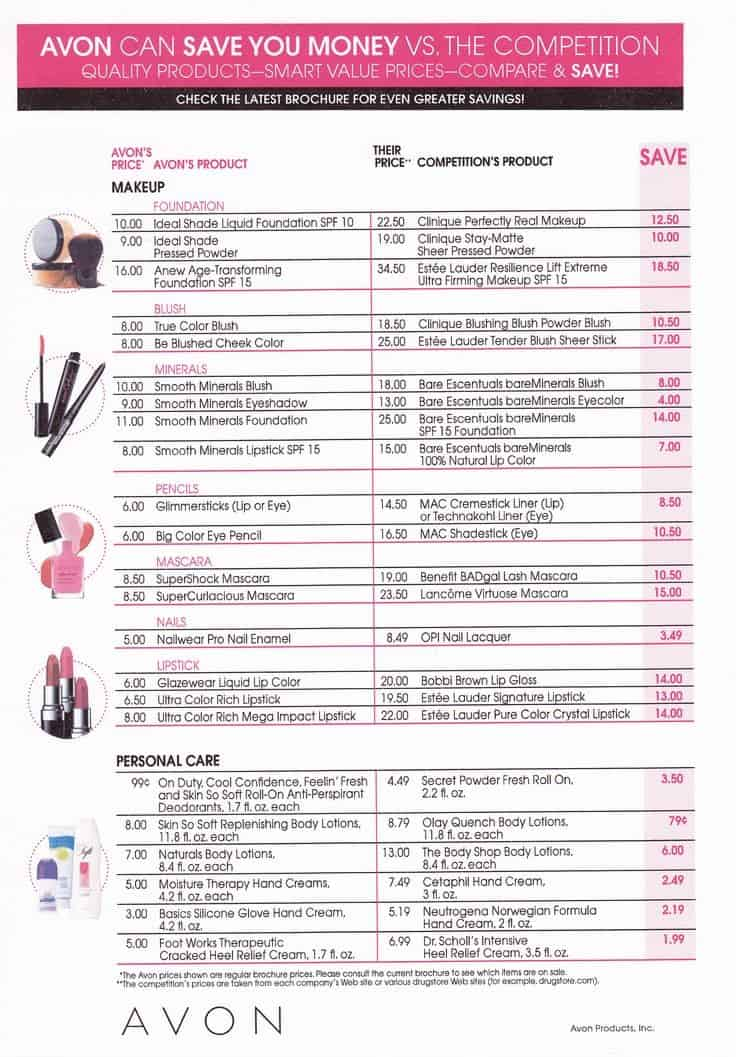 Product Sale Brochure With Price List template 222
