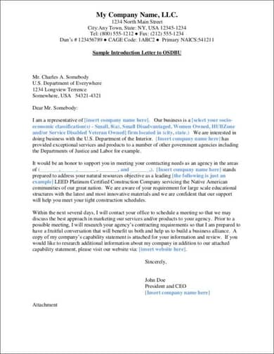 Construction Company Introduction Letter from www.sampletemplatespro.com